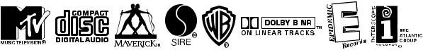 warner logo font ni