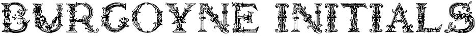 Burgoyne Initials