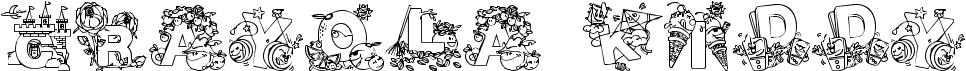 Crayola Kiddy Font