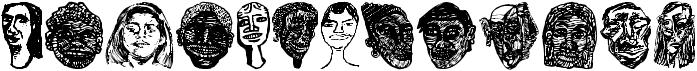 Faces Plain