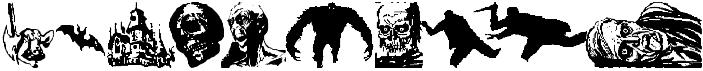 Horror Dingbats Eerie Edition