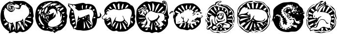 KR Chinese Zodiac