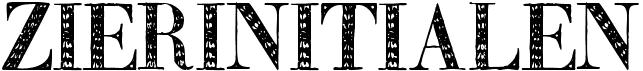 Zierinitialen