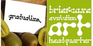 生动活泼gradualism创意字体