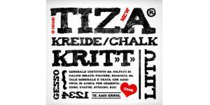 手绘感觉的tiza字体