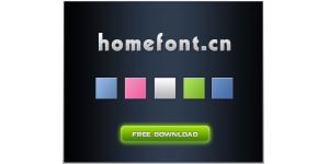 web2.0的一款字体样式