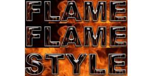 火焰风格字体样式