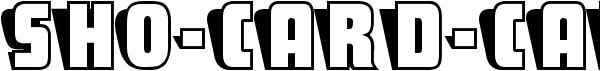 Sho-Card-Caps