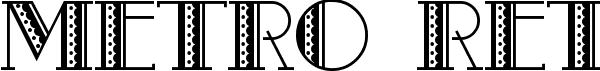 Metro Retro