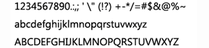 微软的ZegoeUI字体系列