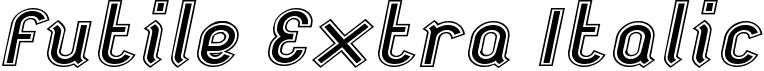 Futile Extra Italic