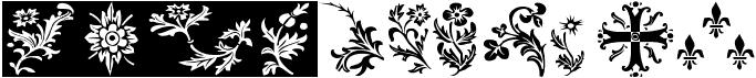YY Old English Dingbats