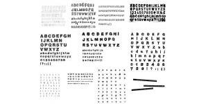 各种变形的26个英文字母(ai)
