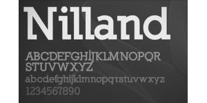 方正有力的一款英文字体