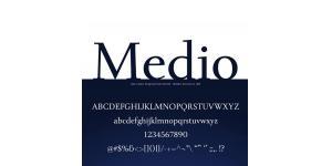 一款文本和标题都适用的字体