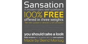 3款自由英文字体