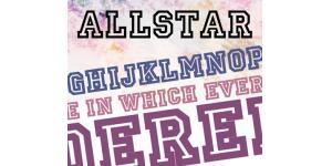 整齐中空Allstar Regular字体素材