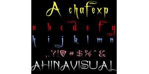 哥特式A chafexp英文字体